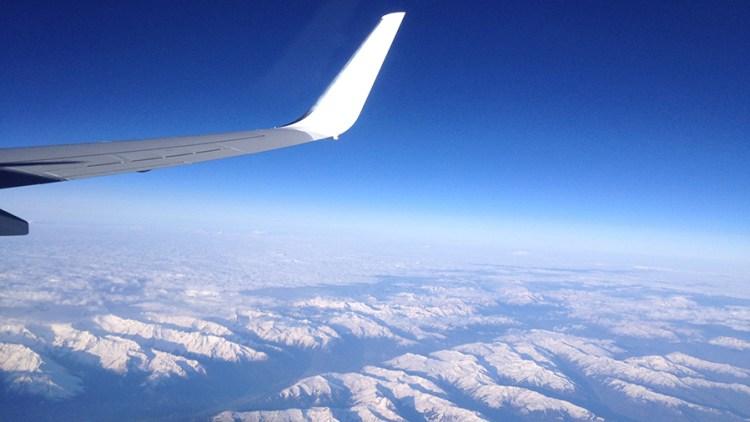 Vliegen naar Krakau