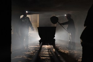 Miners route - zoutmijn Krakau.