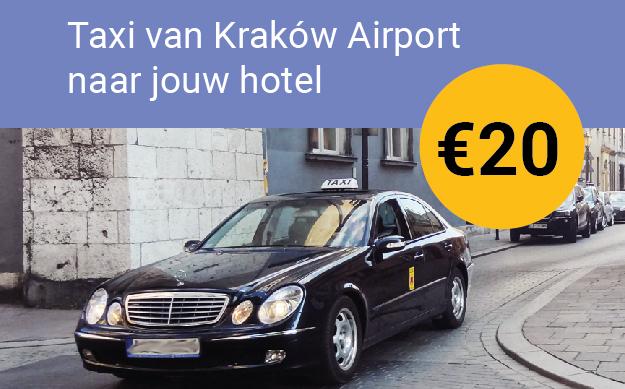 krakow airport naar centrum