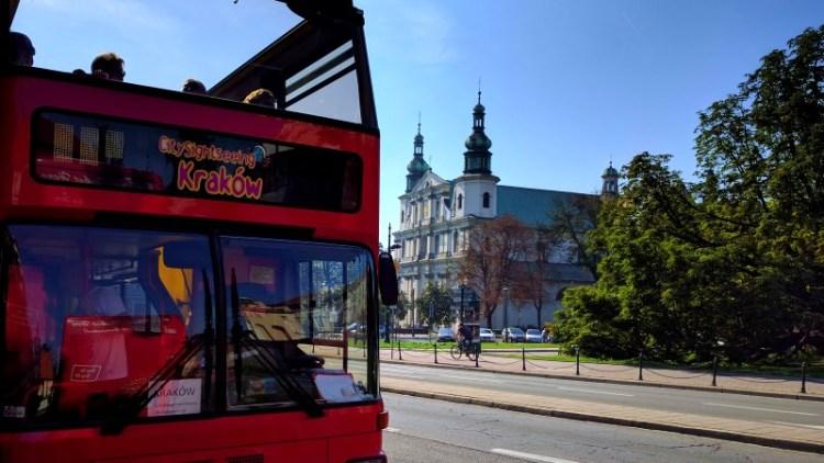 rondleiding in krakow