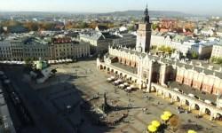 Rynek Glowny grote marktplein - Bezoek Krakau