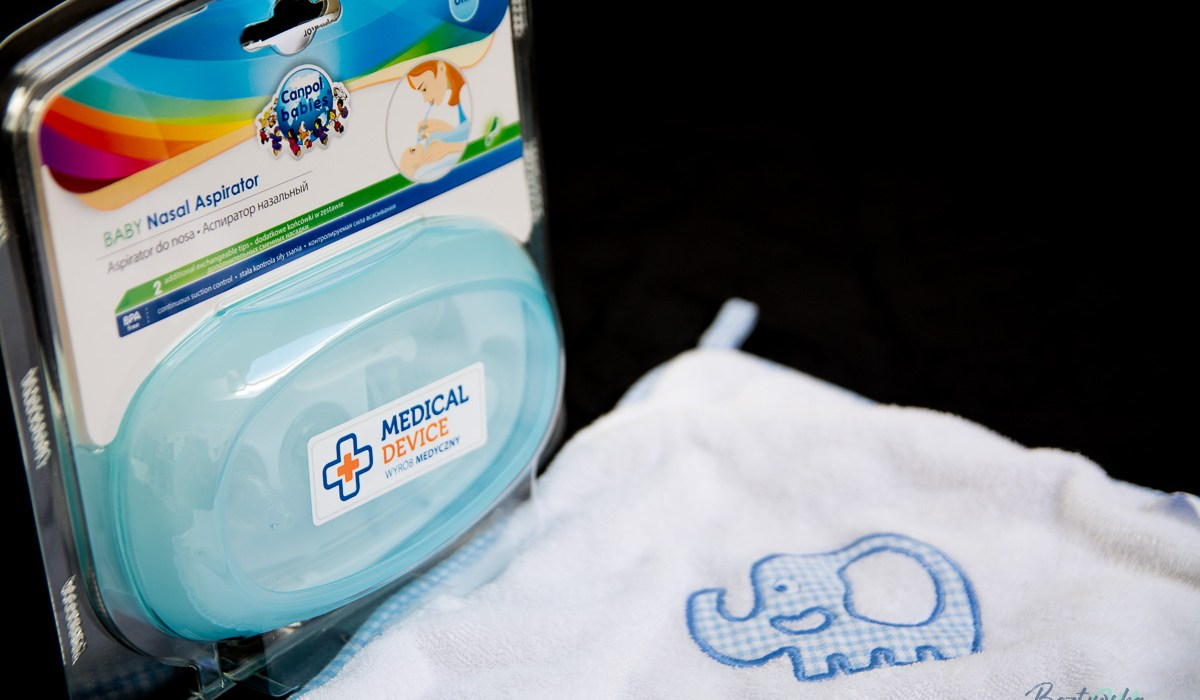 Recenzja ręcznika dla niemowląt i aspiratora do nosa