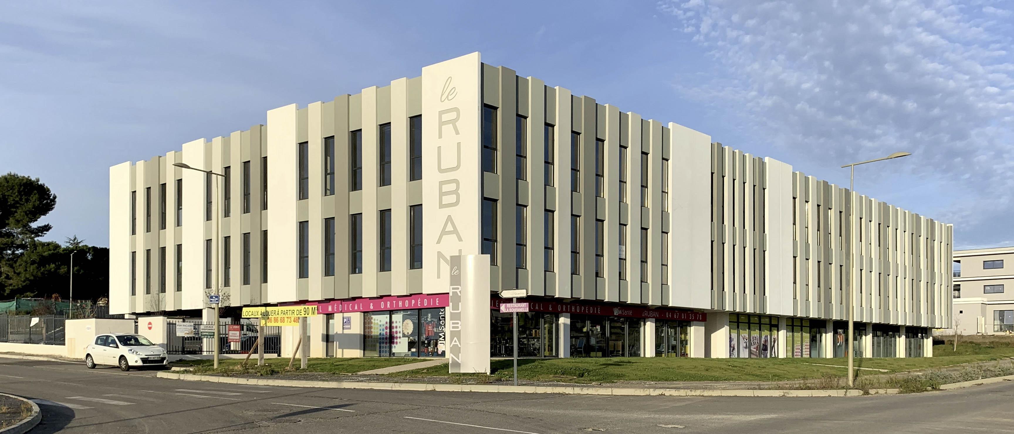 Immeuble le Ruban Béziers BF Architecture 1