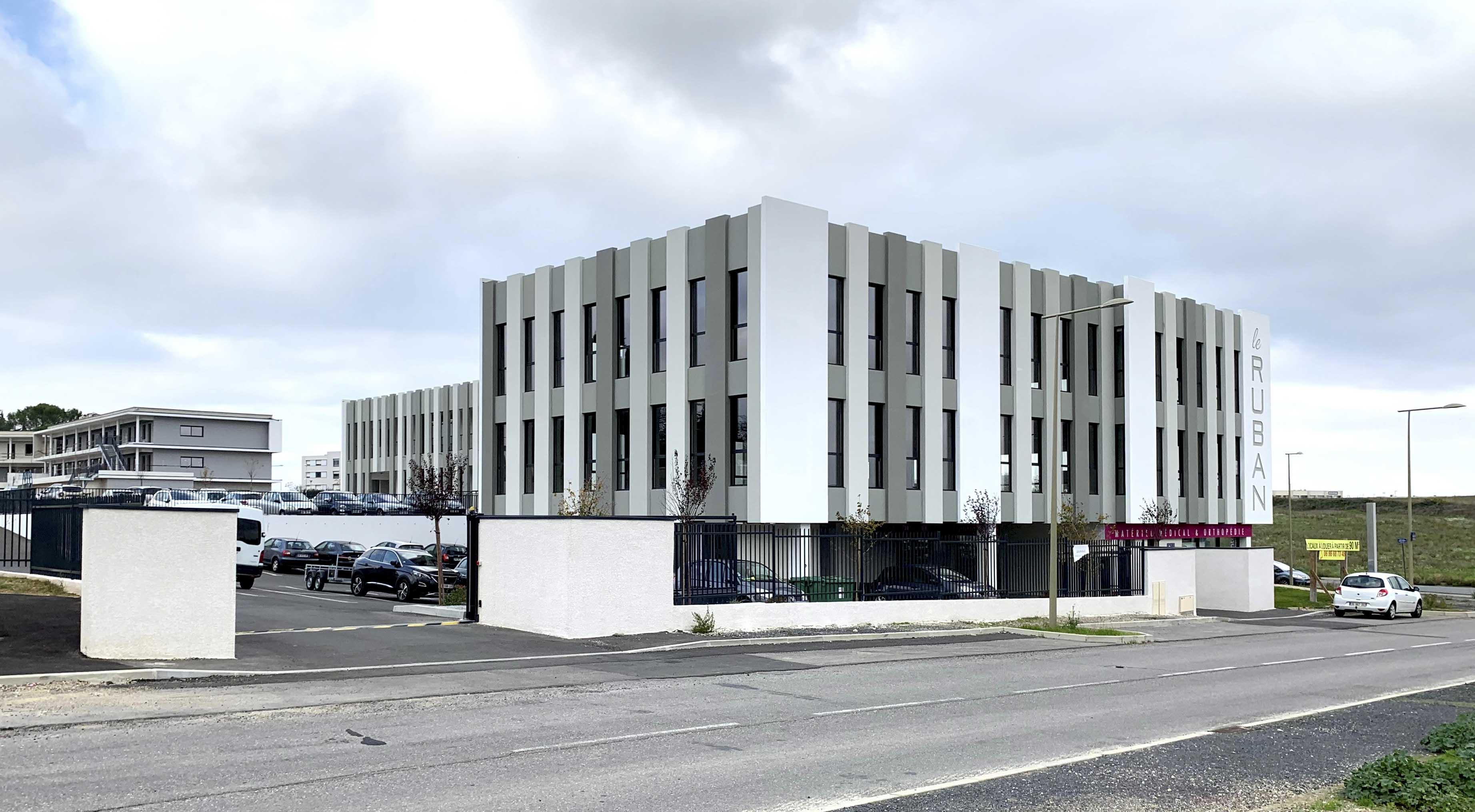 Immeuble le Ruban Béziers BF Architecture 2