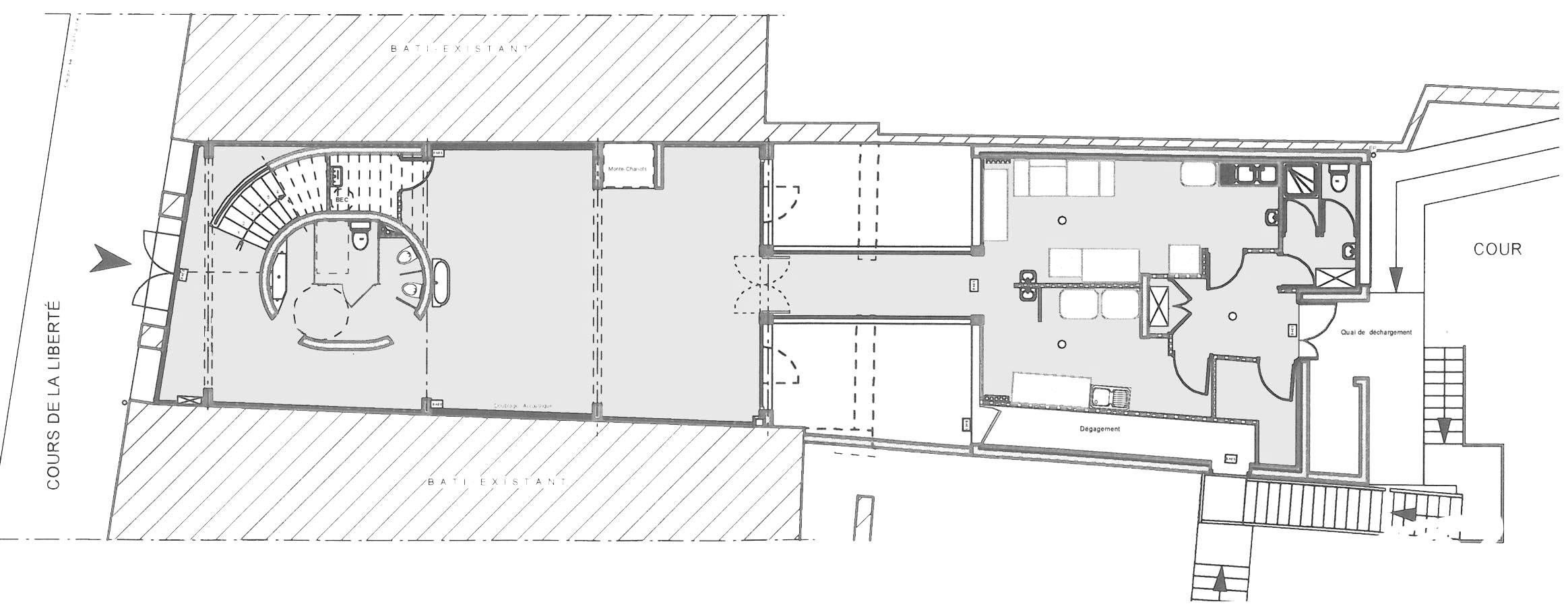 Réhabilitation cantine Saint André BF Architecture 0