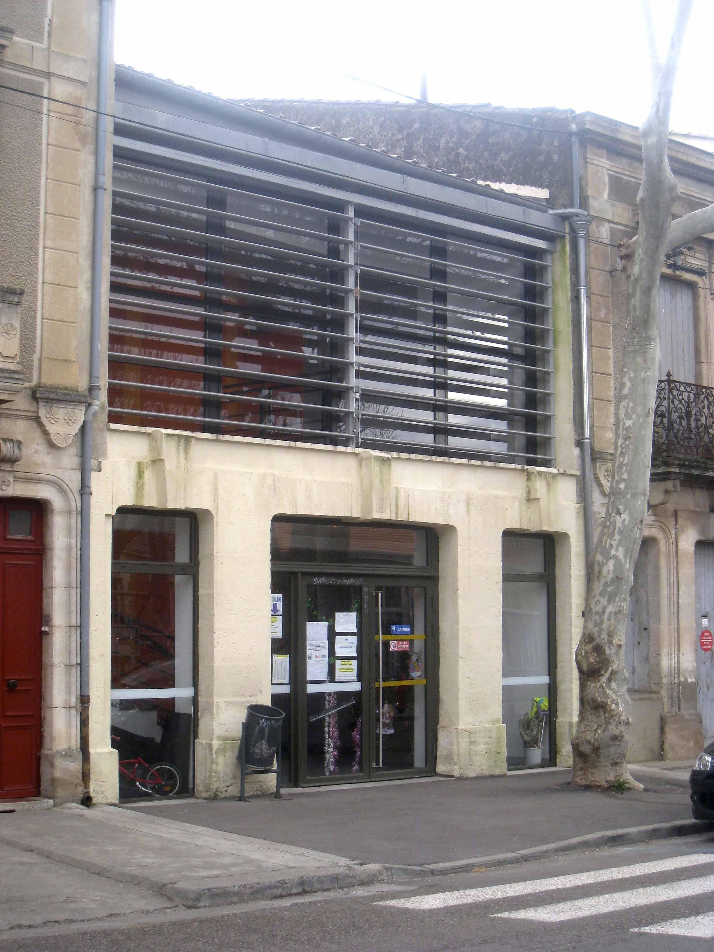 Réhabilitation cantine Saint André BF Architecture 2