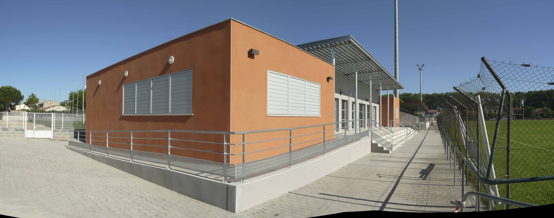 Club House salle polyvalente Hérault BF architecture 2