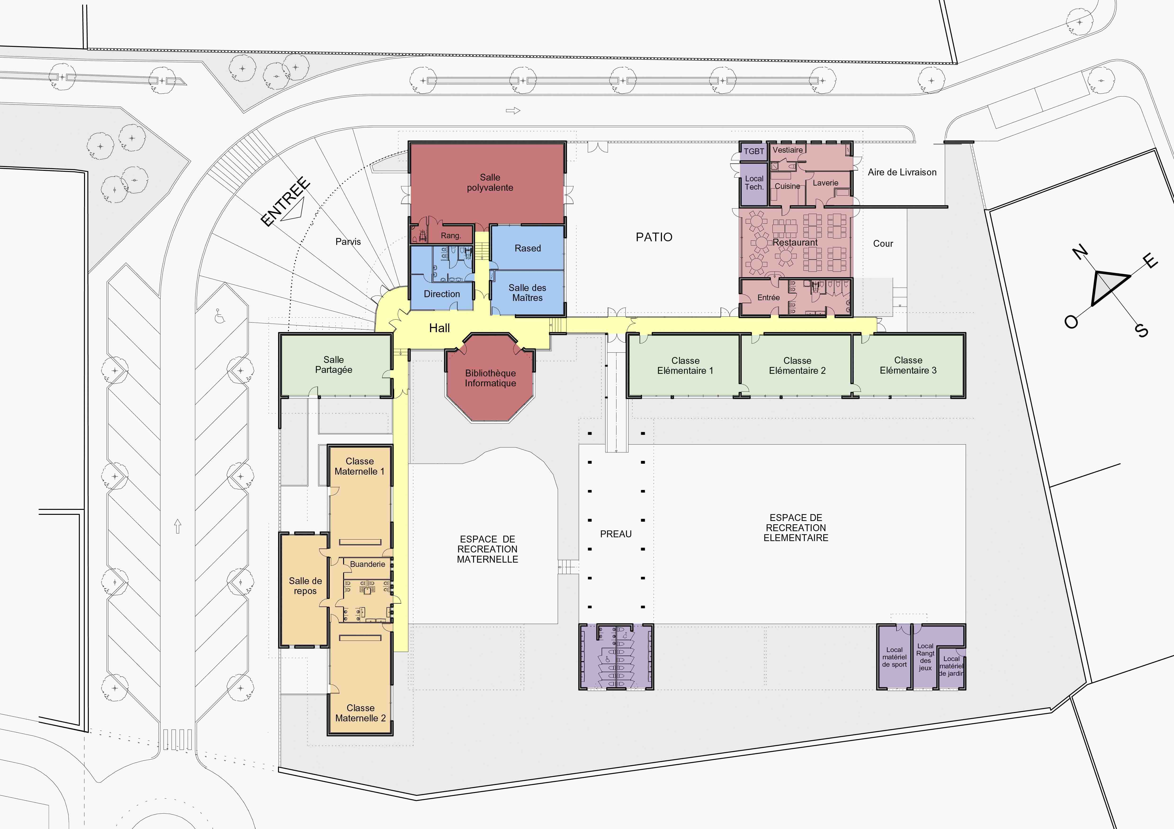 Groupe scolaire Hérault BF Architecture 0