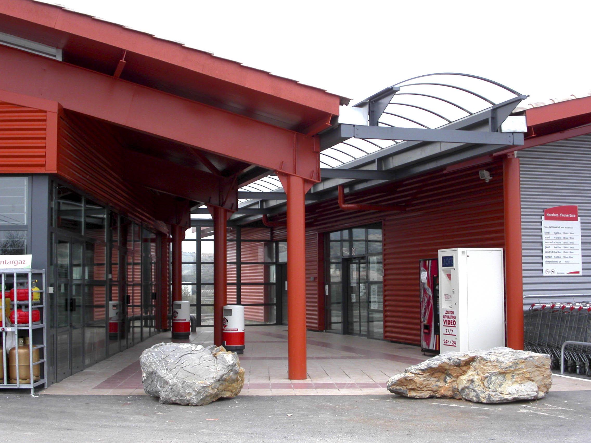Intermarché Fitou BF Architecture 3