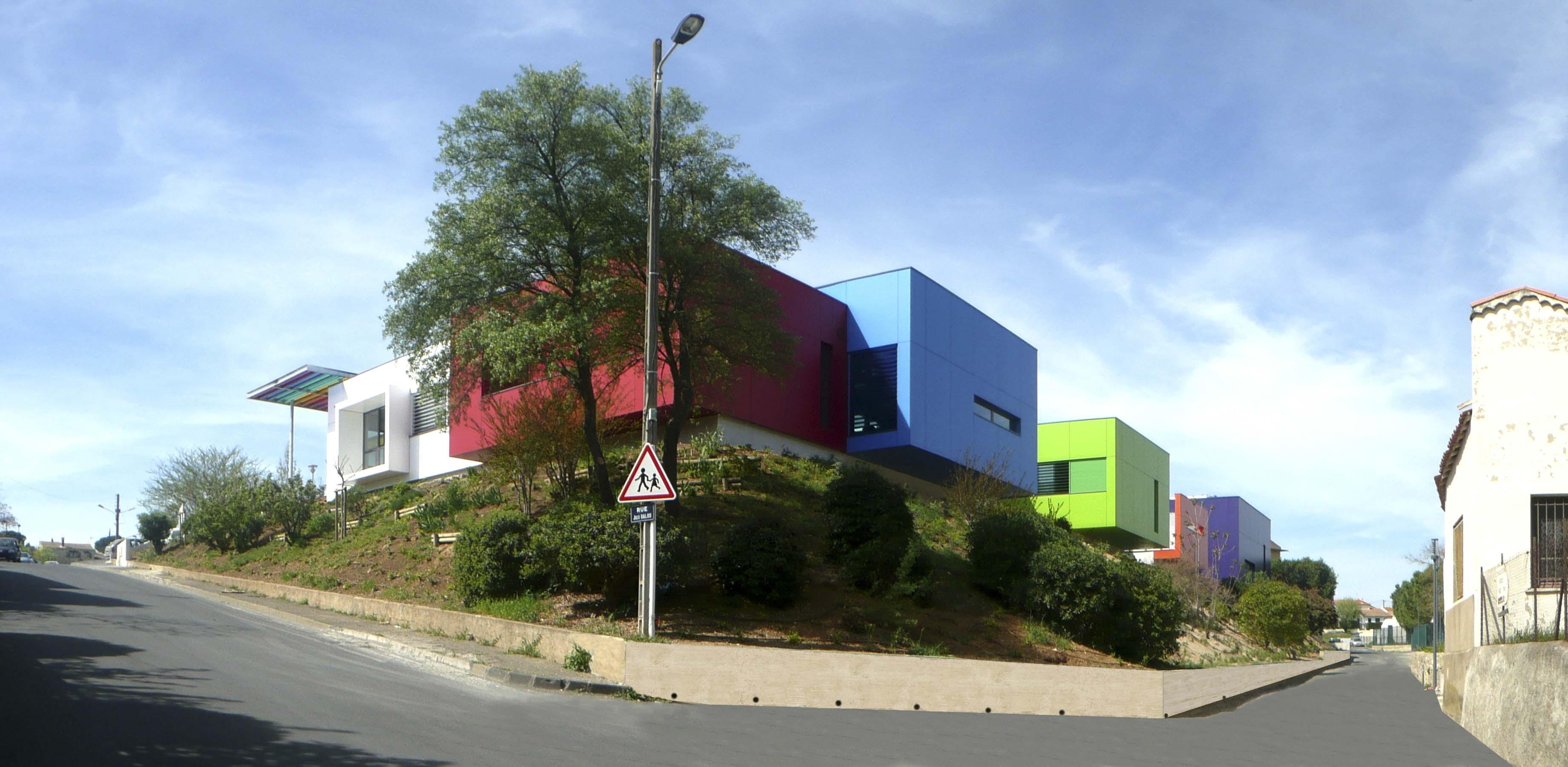 Maison de quartier Beziers BF Architecture 2