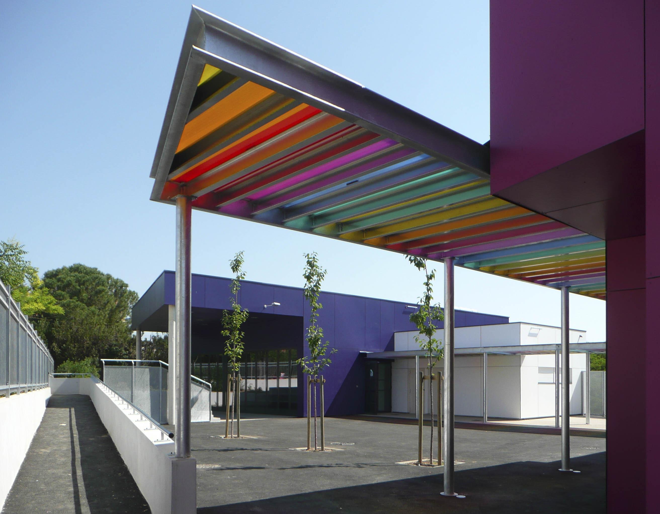 Maison de quartier Béziers BF Architecture 4