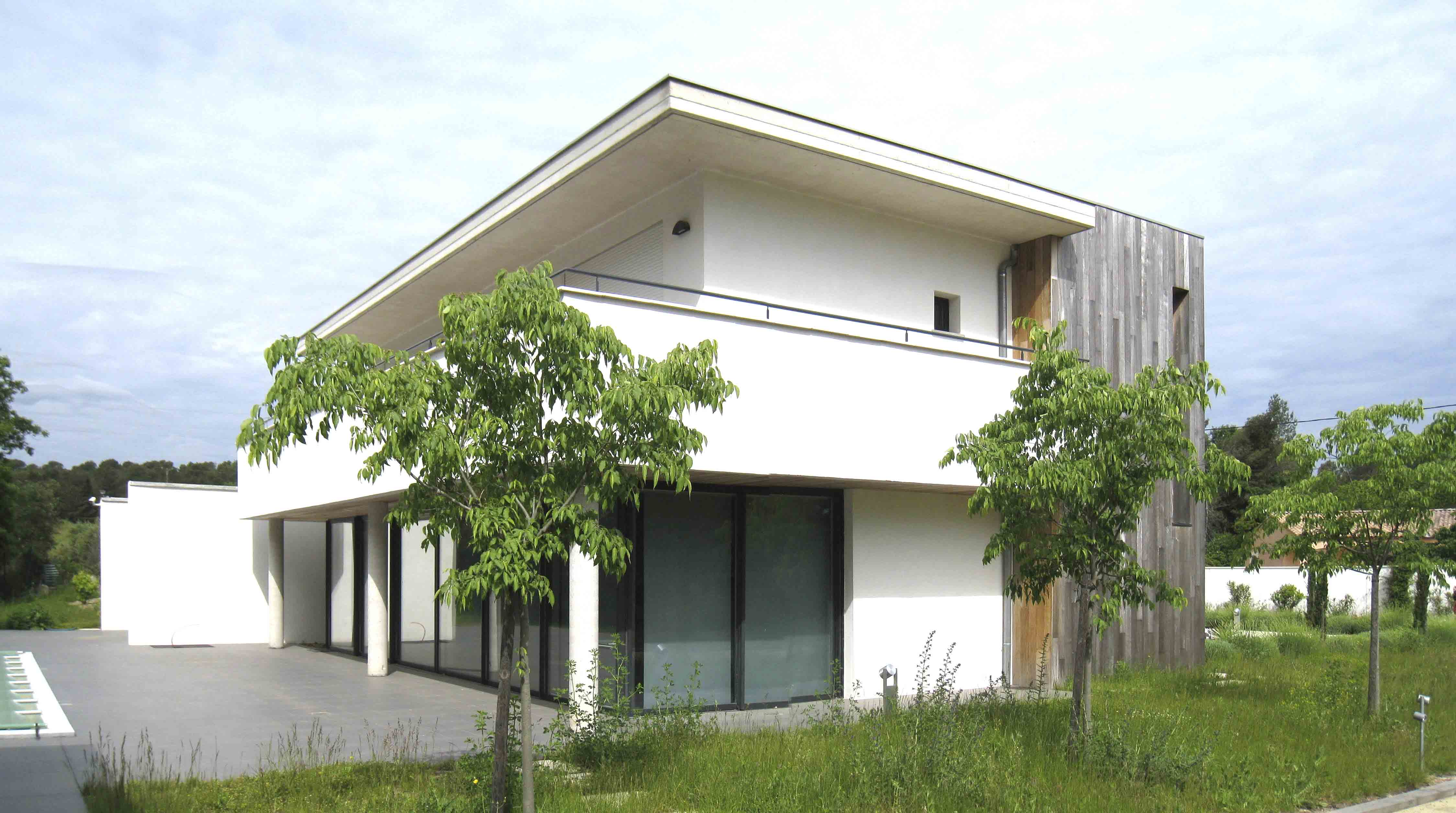 Maison individuelle Clermont herault BF Architecture 2