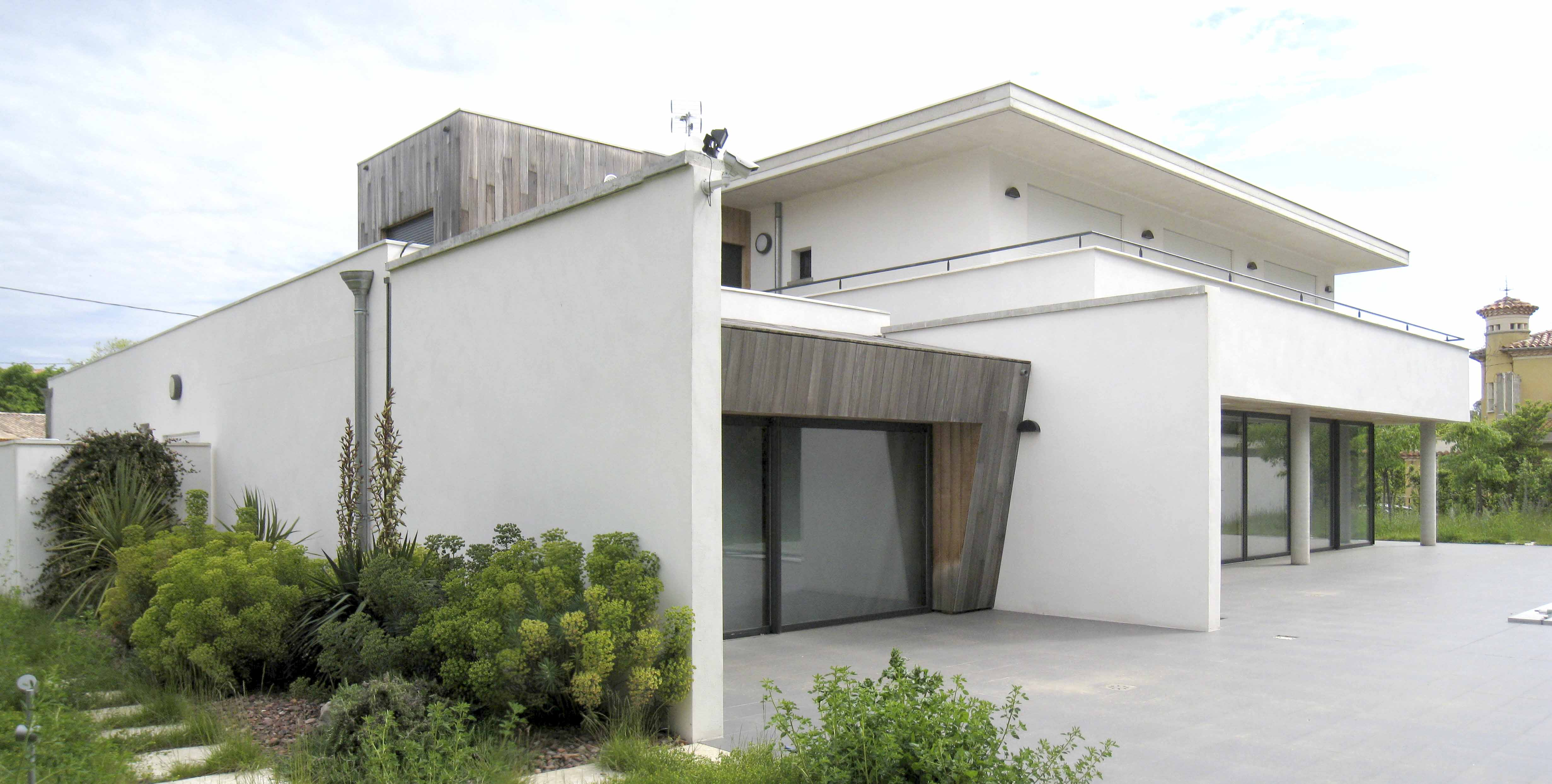 Maison individuelle Clermont herault BF Architecture 3