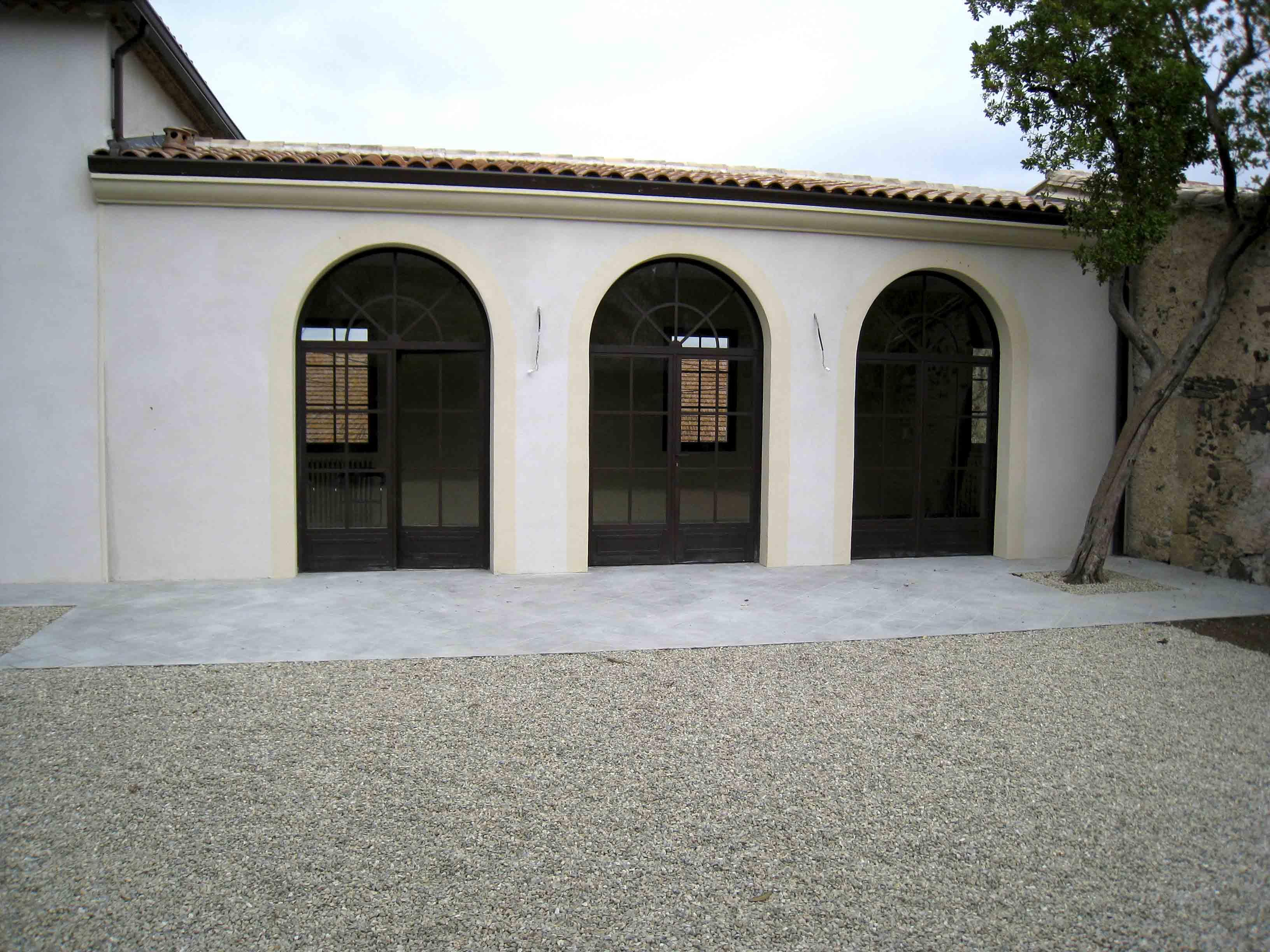 Domaine de Daurion Réhabilitation BF Architecture 2