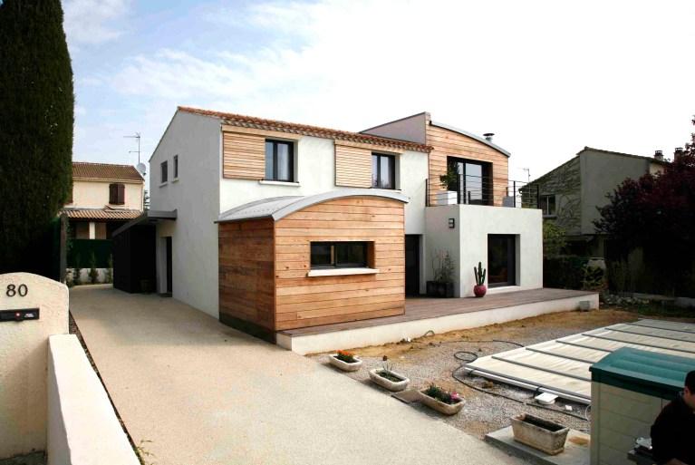 Maison individuelle Montpellier BF architecture 2