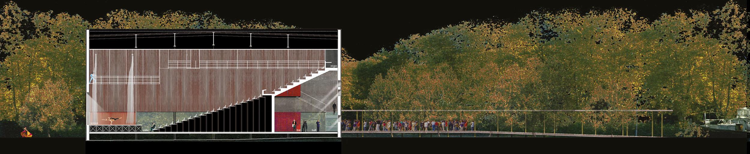 Salle de spectacle Béziers BF Architecture 6