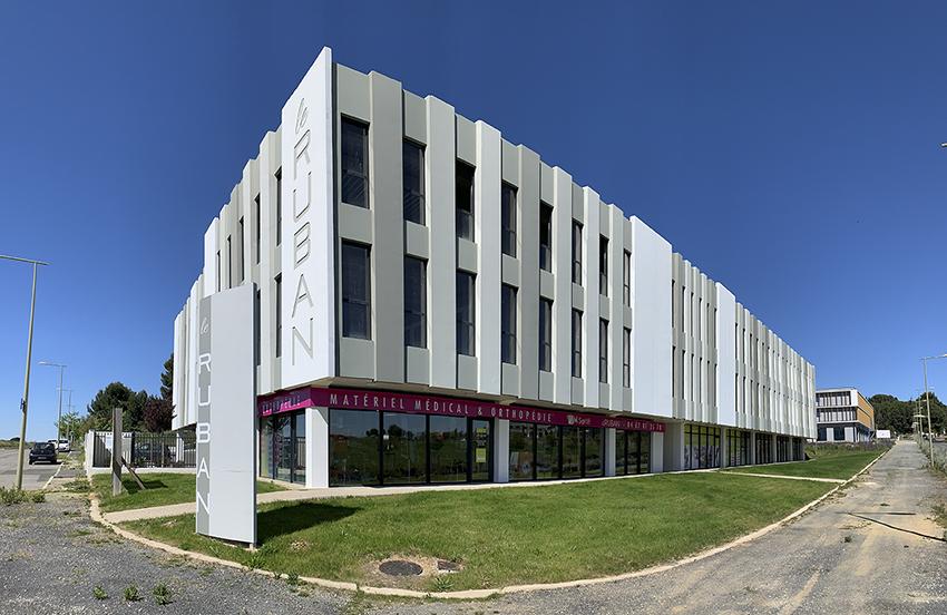 Immeuble le Ruban Béziers BF Architecture 10