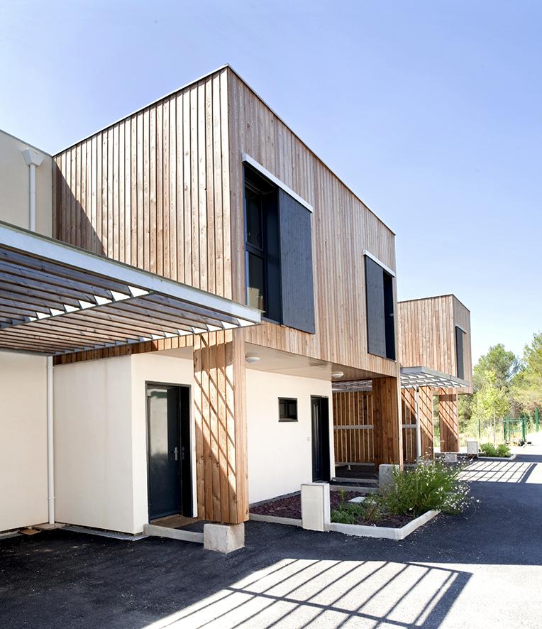 Maison mitoyenne Herault BF Architecture 11