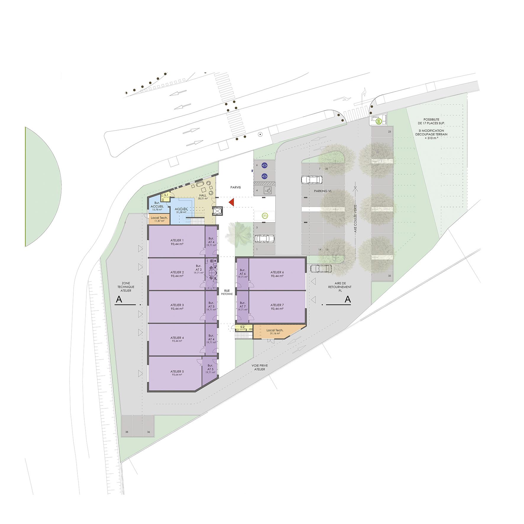 Pépinière entreprises Heliope BF Architecture 9