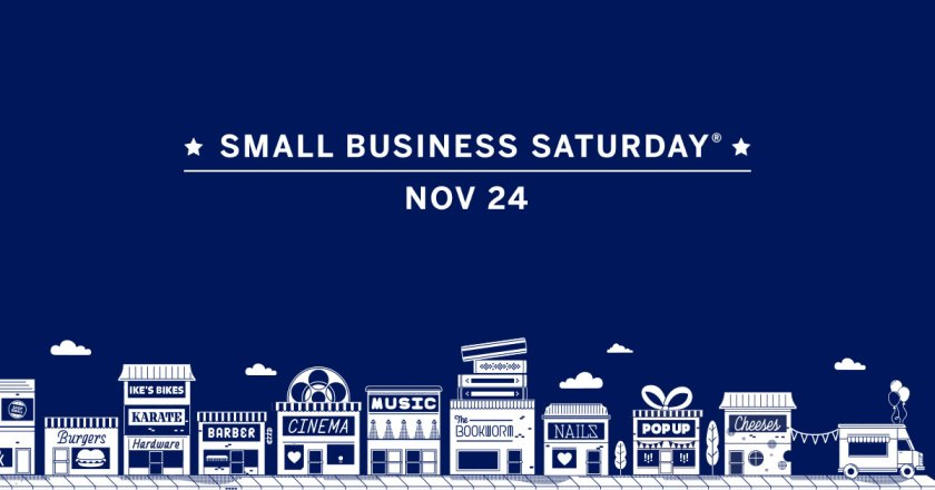 Small Business Saturday 2018 #shopsmall