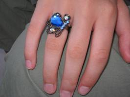 My butterfly ring