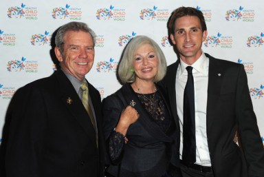 Co-founders of Healthy Child Healthy World, James and Nancy Chuda
