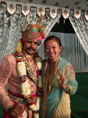 My friend Rags, getting married in Jaipur, India