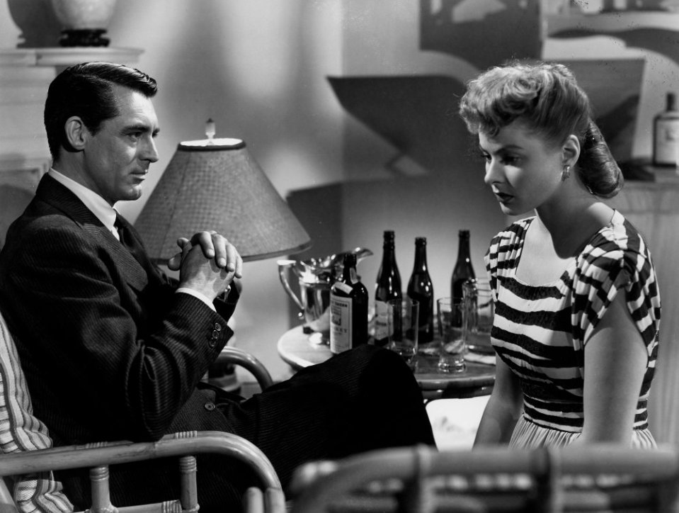 Image of 1946 black and white movie Notorious