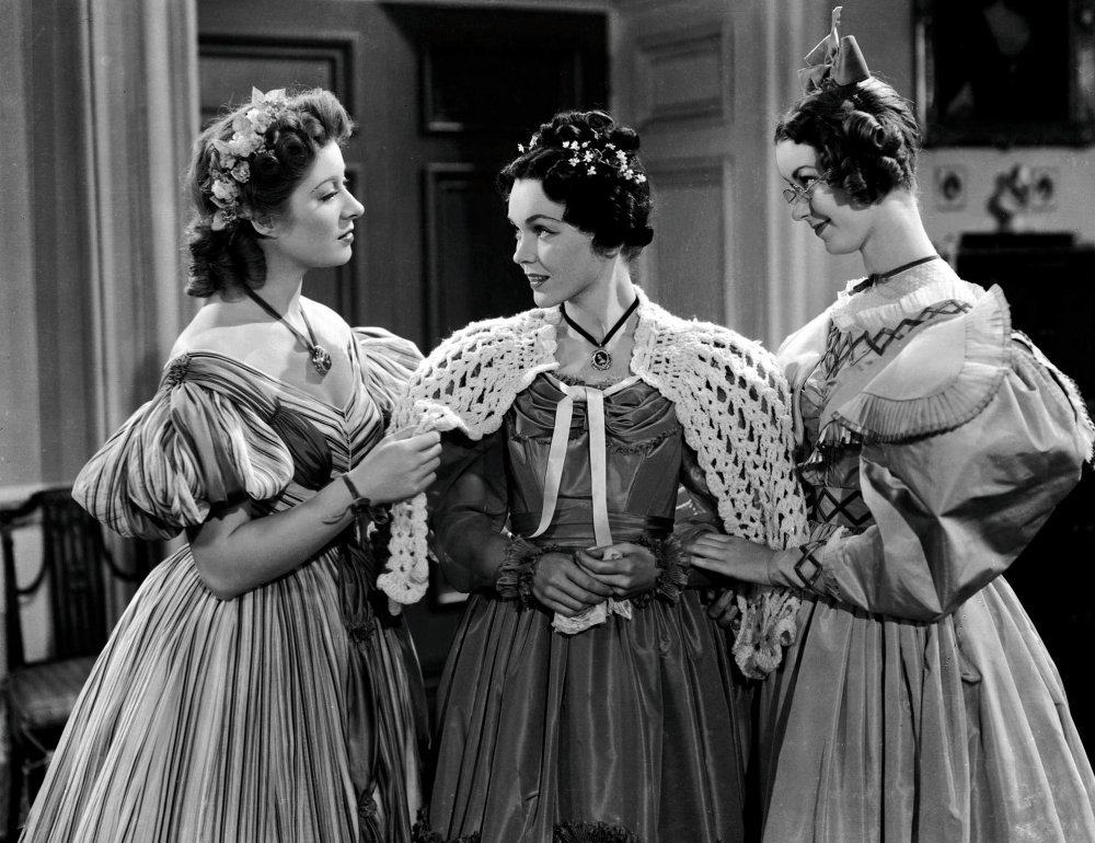 Greer Garson, Margaret O'Sullavan and Hunt in Pride and Prejudice (1940)