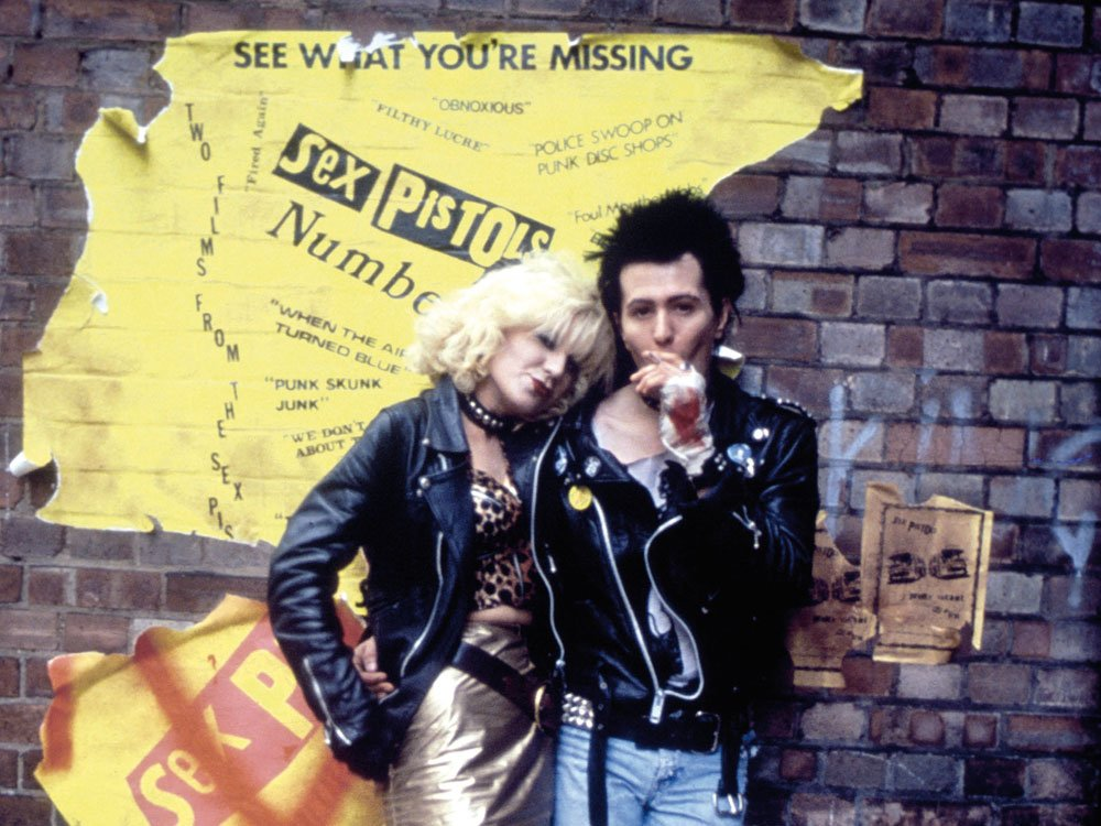 Image result for Sid and Nancy (1986)