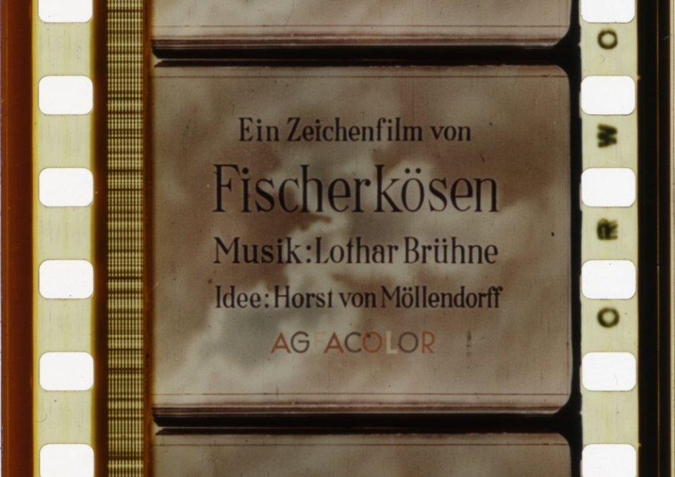 Die verwitterte Melodie (1943). Orwocolor safety print of this Agfacolor film