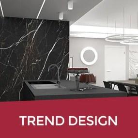 Tendenze Interior design 2020: marmo, oro e ottone