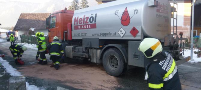Treibstoffaustritt in Hart