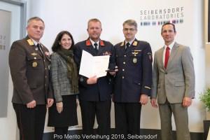 Würdige Auszeichnung für die Kärntner Strahlenspürer der Feuerwehr