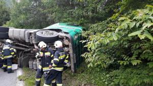Verkehrsunfall auf der A10