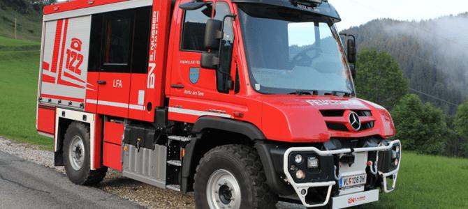 Einladung zur Fahrzeugsegnung LFA Feuerwehr Afritz am See