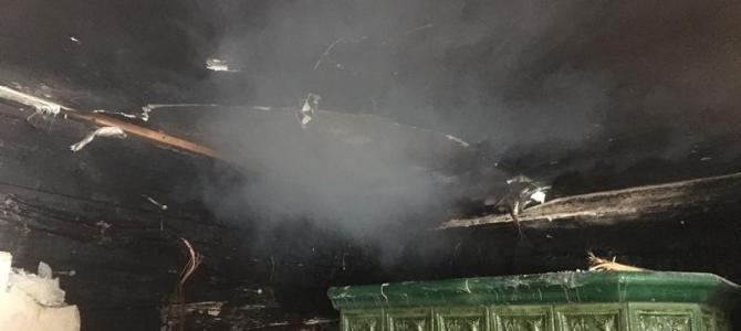 Ferienwohnungsbrand in Winklern Einöde