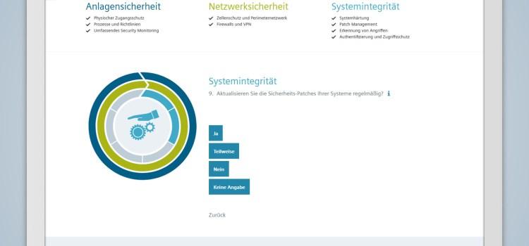 Siemens Industrial Security Assesment App