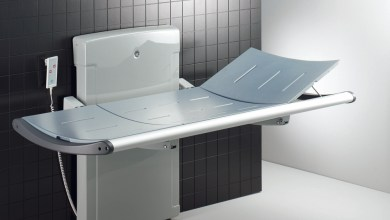 Photo of Changing Places with Pressalit Care nursing benches