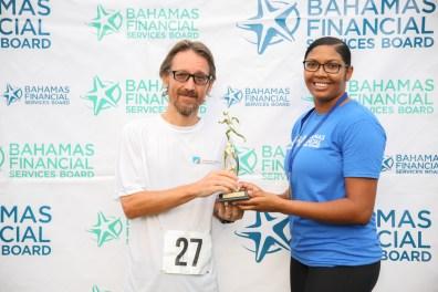 2nd Place Male Runner Simone Bertoldo