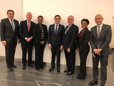 Bahamas Delegation and senior executives of Credit Suisse AG