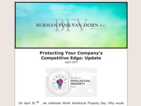 Protecting Your Company