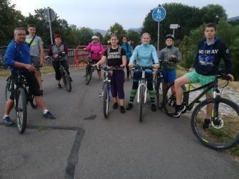 Gymnastik Fahrradtour Sommer 2019