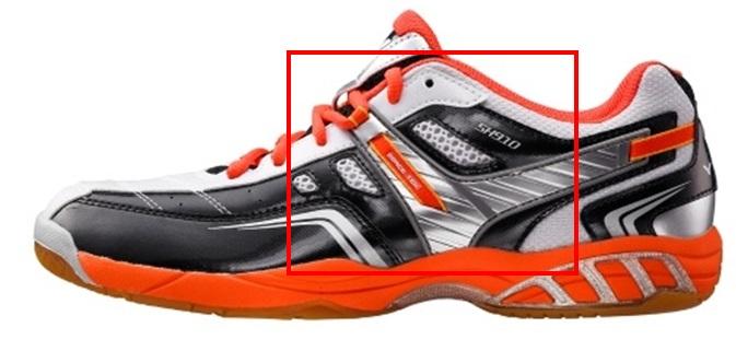 Ergonomic Design for Badminton Shoes