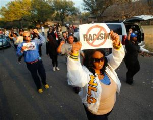 Oklahoma Fraternity Racist Video Protest