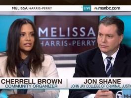 Cherrell holding it down on 'Melissa Harris-Perry'.