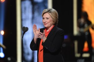 hillary clinton at black girls rock
