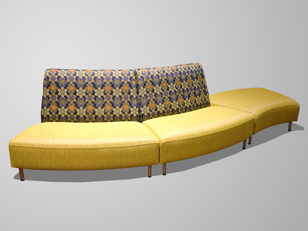 CURVED LOVESEAT CONVEX CubeCart