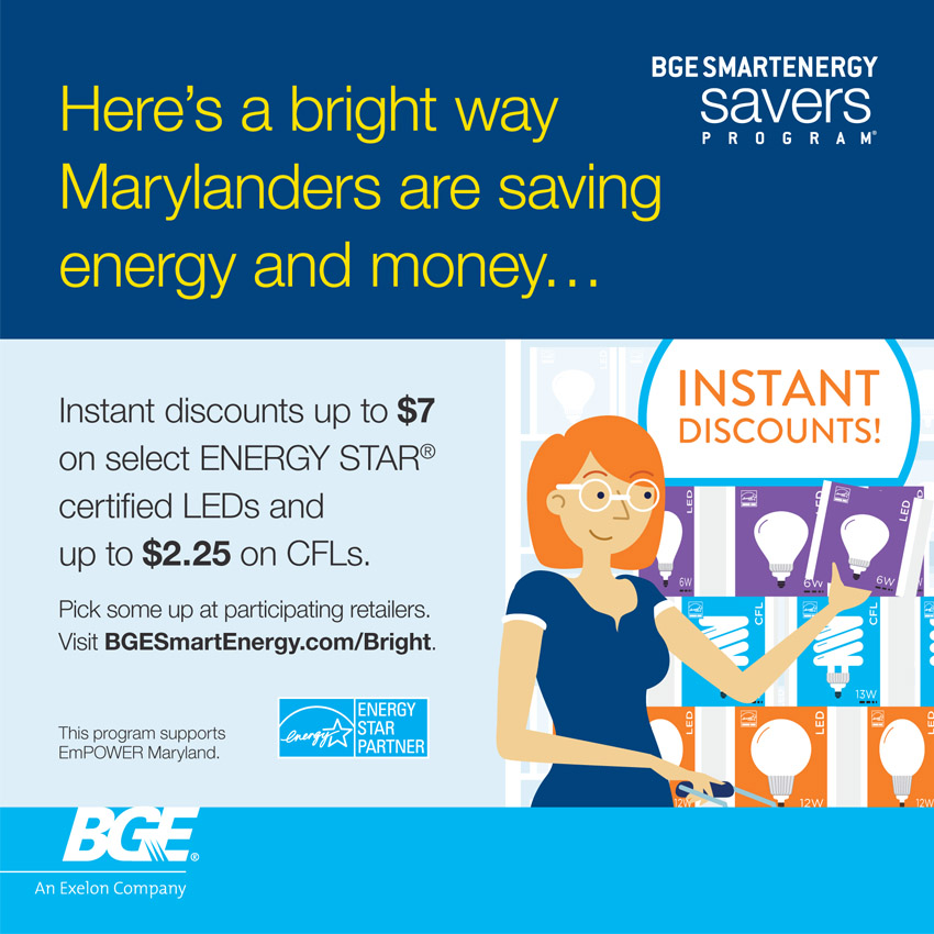 energy efficiency baltimore gas and