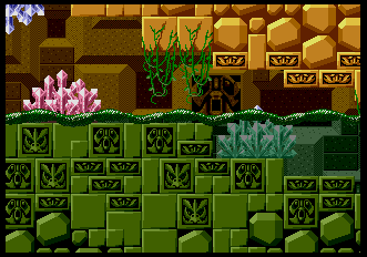 Background HQ Sonic The Hedgehog Labyrinth Zone